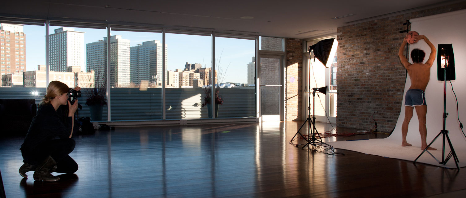 Photo-Shoot at Center on Halsted, Chicago 2013