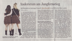 Andersrum am Jungfernstieg